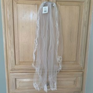 David's Bridal veil